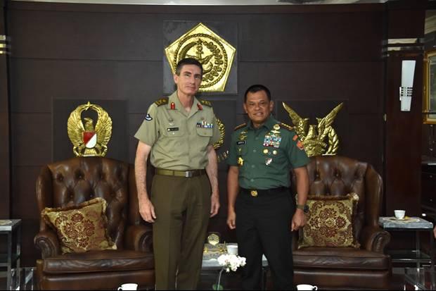 Di Hadapan Panglima TNI, Petinggi Militer Australia Janji Hukum Anak Buahnya