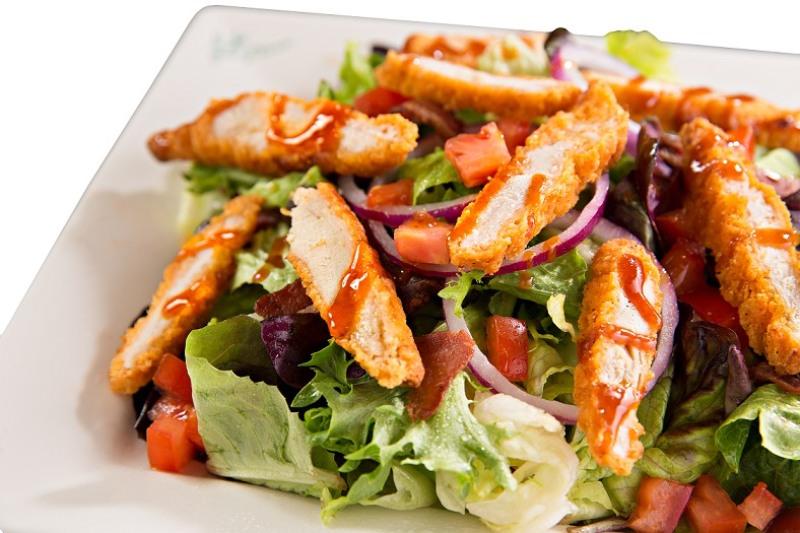 RESEP PILIHAN: Ayam Goreng Lapis Salad, Menu Akhir Pekan yang Patut Dicoba : Okezone Lifestyle