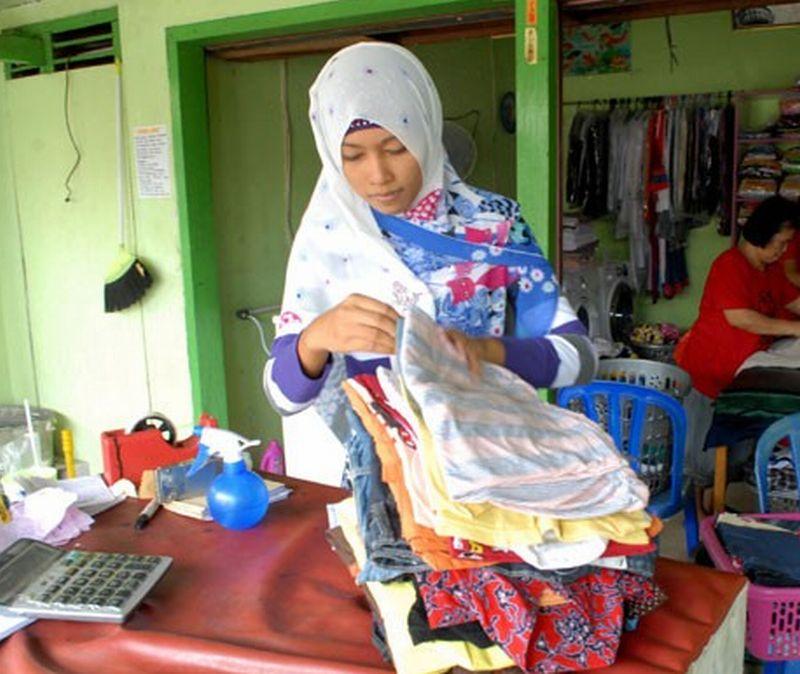 BISNIS RUMAHAN: Usaha Laundry Kiloan Omzetnya Rp16 Jutaan ...