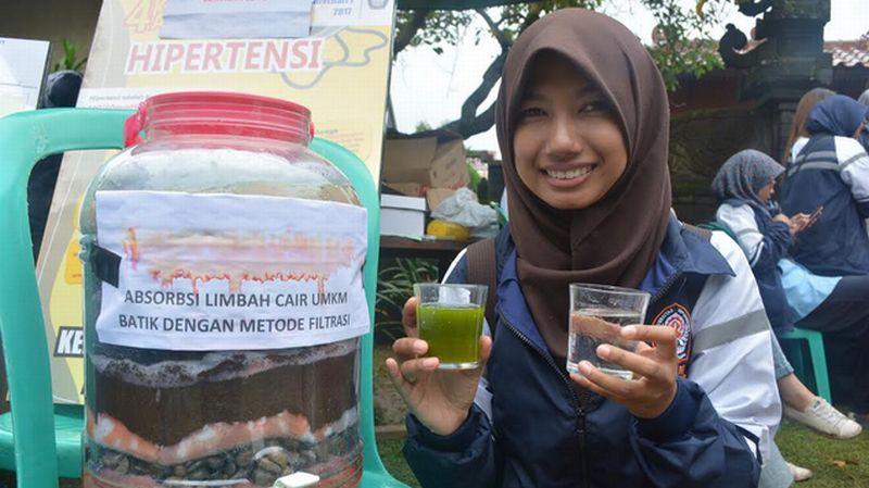 Wow, Mahasiswa Sulap Limbah Batik Jadi Cairan Ramah Lingkungan