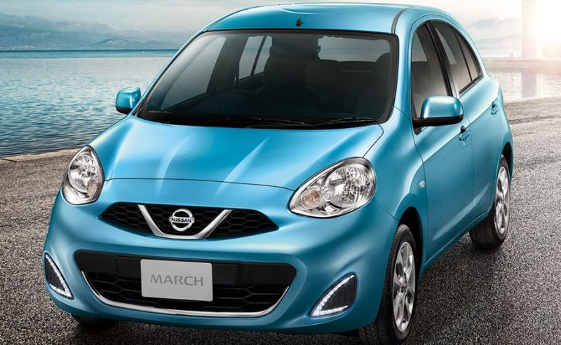 Nissan new March (foto: Indianautosblog)