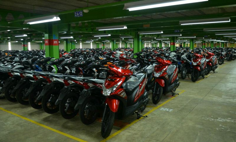 Penjualan wholesales sepeda motor Honda pada Januari 2017 naik 19% dibanding Desember 2016 (AHM)