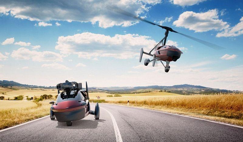 Mobil terbang Pal-V Liberty dibanderol USD600 ribu (Pal-V)