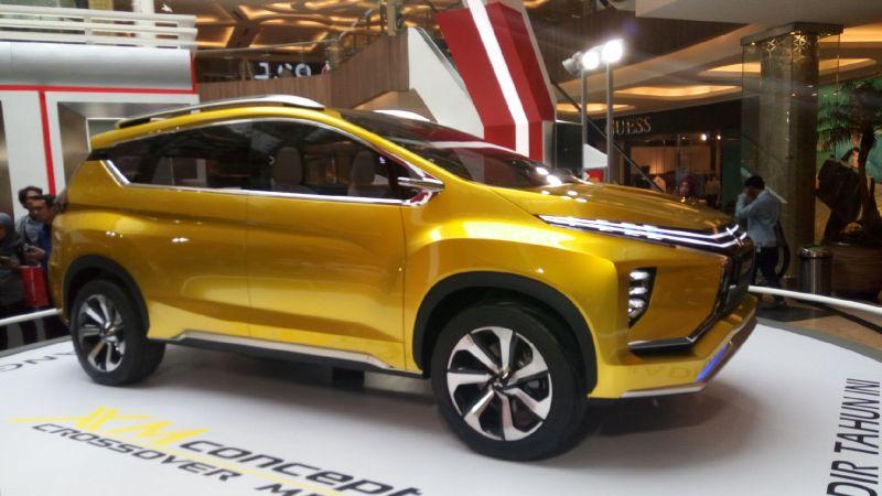 Mitsubishi XM Concept menyapa Bandung (Foto: Santo/Okezone)