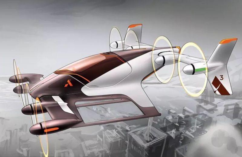 Mobil terbang yang dikembangkan Airbus (Airbus)
