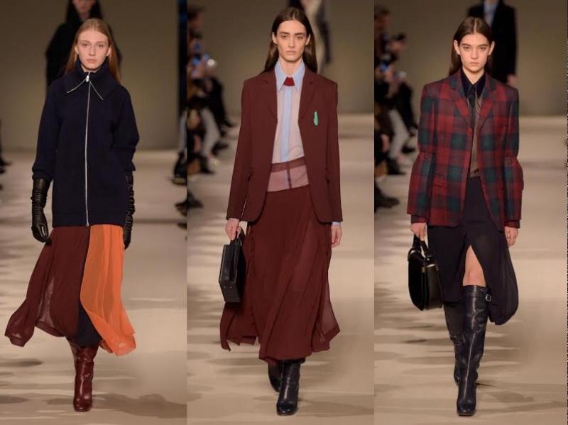 Victoria Beckham Rilis Koleksi Busana Bergaya Maskulin Di New York Fashion Week Autumn Winter