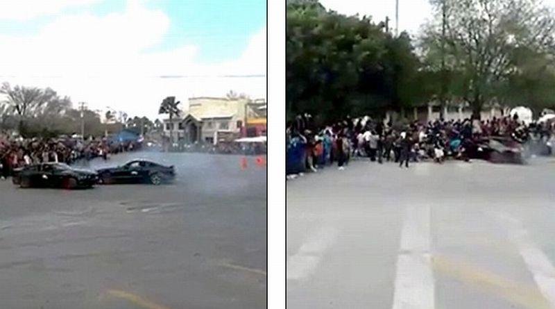 Ford Mustang Drifting Seruduk Penonton di Meksiko, Ini Penyebabnya