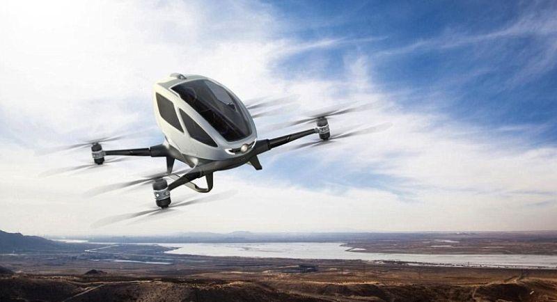 Perusahaan drone China Ehang siap merambah dunia (Ehang)