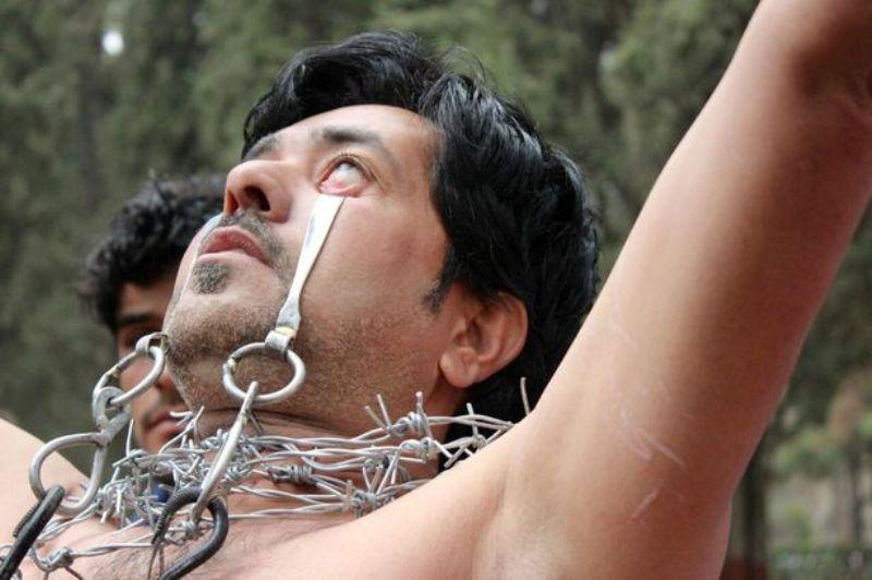 Ghulam Farooq (32) berharap bisa mencatatkan rekor dunia baru. (Foto: Caters News Agency)