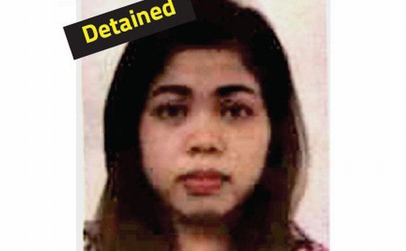 Siti Aisyah, WNI yang diduga terlibat dalam pembunuhan Kim Jong-nam. (Foto: The Star)