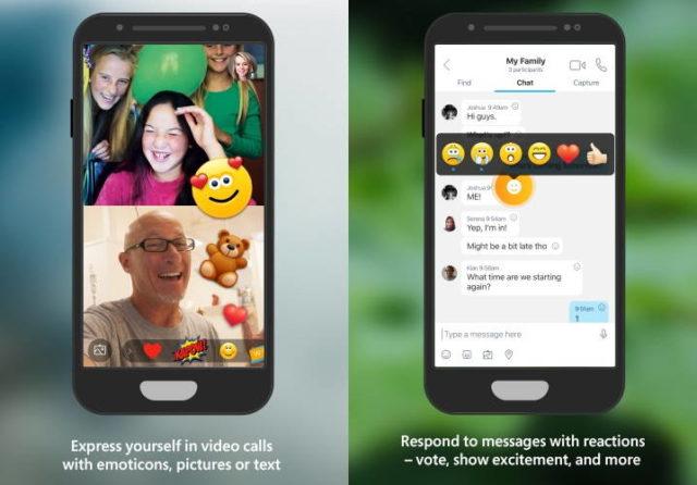 Skype Beta untuk iOS dan Android Bakal Diramaikan 'Reactions'
