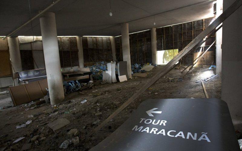Venue Perhelatan Olimpiade Rio 2016 Terbengkalai