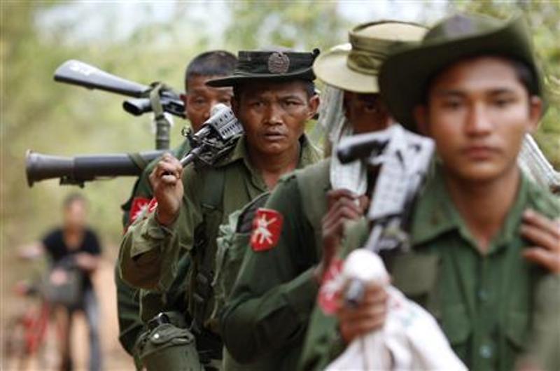 Militer Myanmar. (Foto: Reuters)