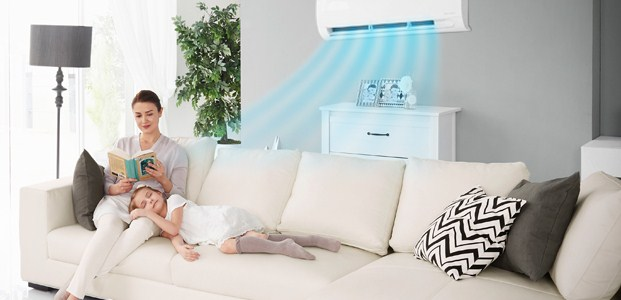 Hasil gambar untuk LG AC DUAL COOL with Watt Control-Eco dining room