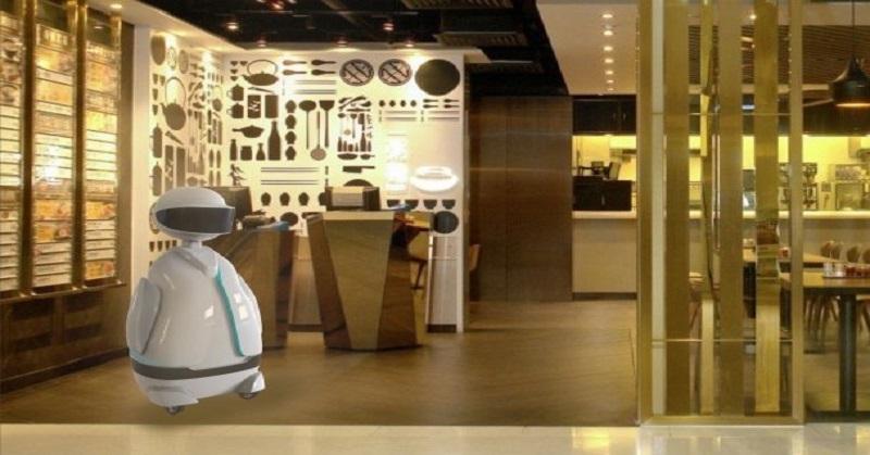 Keren, Robot Restoran Ini Bisa Berinteraksi dengan Manusia
