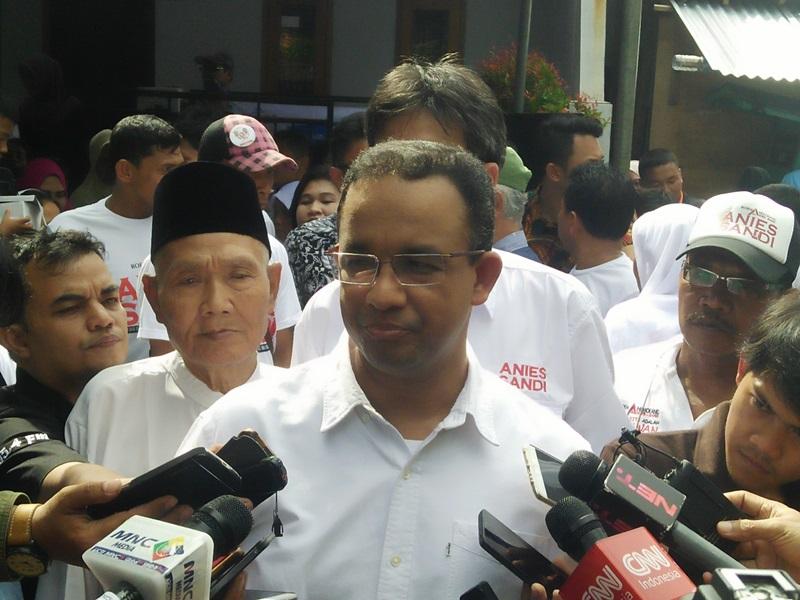 Pantau Pencoblosan Ulang di Kalibata, Anies Sudah Dapat Izin Bawaslu