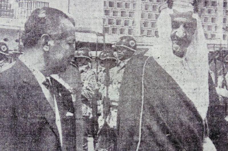 Image result for Raja Faisal ke indonesia 1970