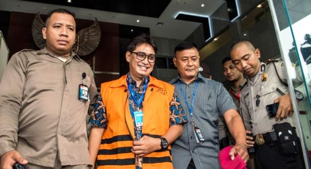 Masa Penahanan Diperpanjang, Choel Mallarangeng: Syukur Alhamdulillah