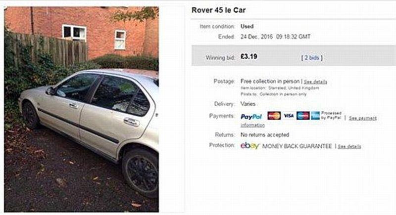 mobil sedan 53 ribu di ebay