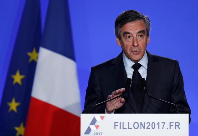 Calon Presiden Prancis Francois Fillon (Foto: Christian Hartmann/Reuters)