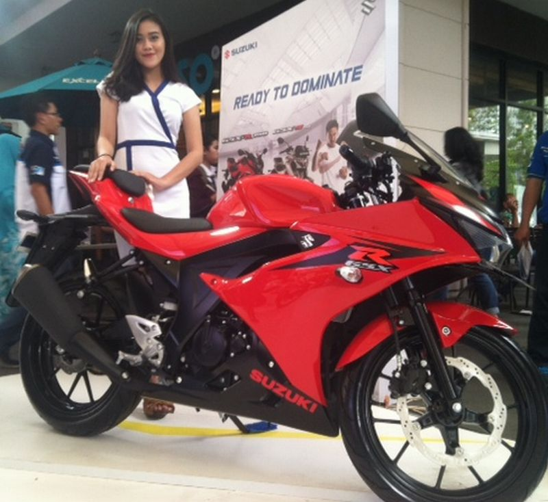 Suzuki Targetkan Jual 2 000 Motor Gsx R150 Gsx S150 Di Bekasi