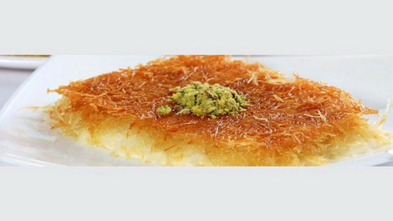 Intip Video Proses Pembuatan Kunafa Dessert Manis Asal Arab Okezone Lifestyle
