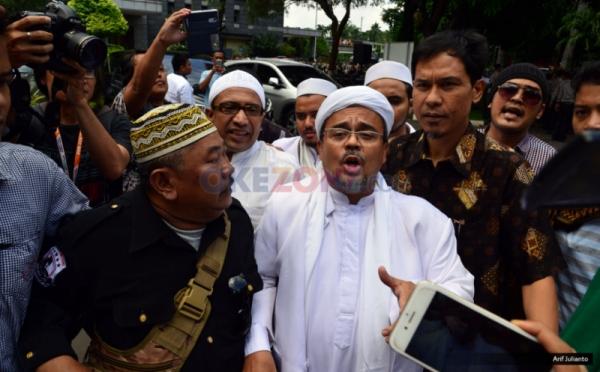 Besok, Polisi Periksa Saksi Pelapor Kasus Dugaan Provokasi oleh Habib Rizieq