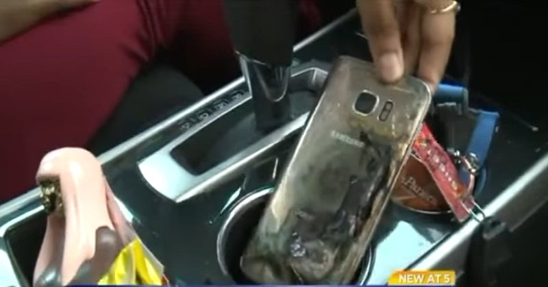 TOP TECHNO: Galaxy S7 Tiba-Tiba Terbakar
