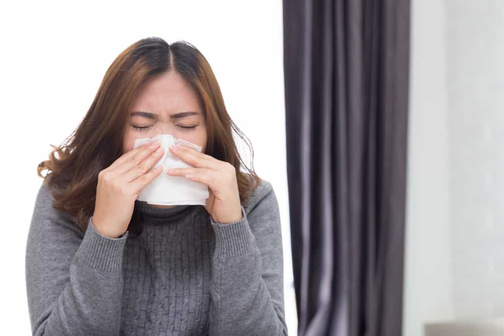 kelenjar hidung akan menghasilkan lebih banyak lendir mukus supaya lapisan hidung tetap lembap.
