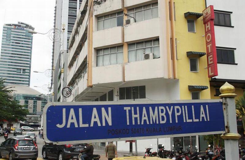 Gedung yang diduga merupakan Golcom, perusahaan yang dijalankan oleh intelijen Korut. (Foto: Reuters)