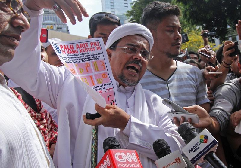 Kasus Palu Arit Pidato Rizieq Shihab, Polisi Akan Panggil Saksi Ahli