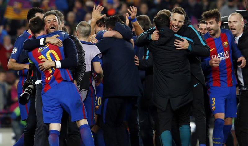 Cuplikan Gol Barcelona Vs Psg Tadi Malam Okezone Bola