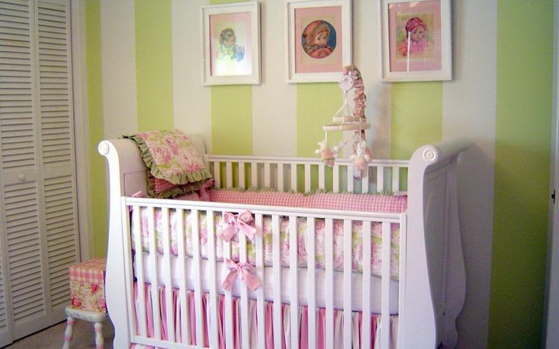 sambut bayi pertama dengan ide dekorasi kamar seperti ini