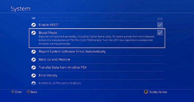 Sony Hadirkan Fitur 'Boost Mode' di PS4