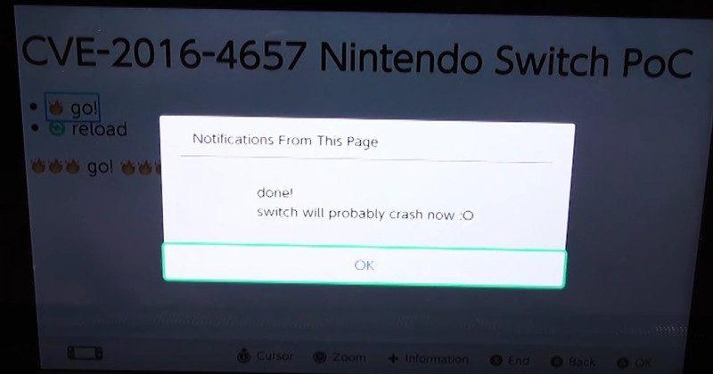 Baru Diluncurkan, Nintendo Switch Sudah Dibobol