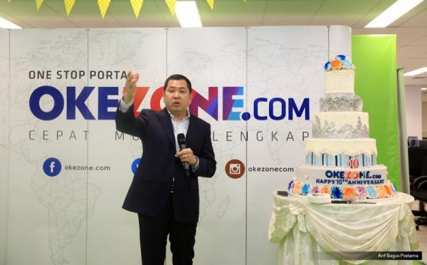 Chairman & CEO MNC Group, Hary Tanoesoedibjo (foto: Arif Bagus/Okezone)