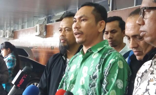 Koordinator persidangan Ahok GNPF MUI Nasrul Nasution (Foto: Reni Lestari)