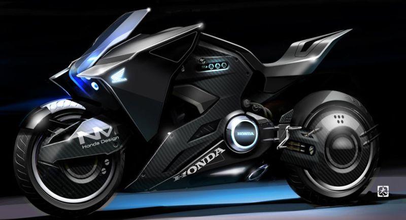 Honda NM4 konsep (foto: Carscoops)