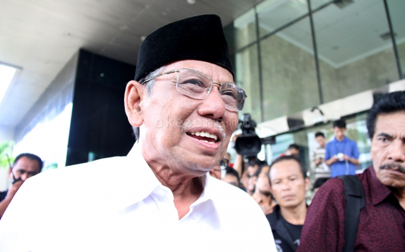 Almarhum KH Hasyim Muzadi (Foto: Okezone)