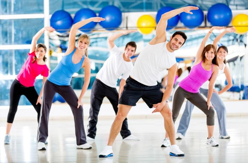 latihan aerobik