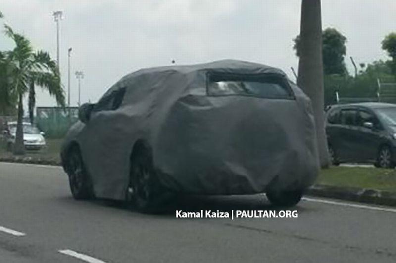 Honda CR-V uji jalan (foto:Paultan )