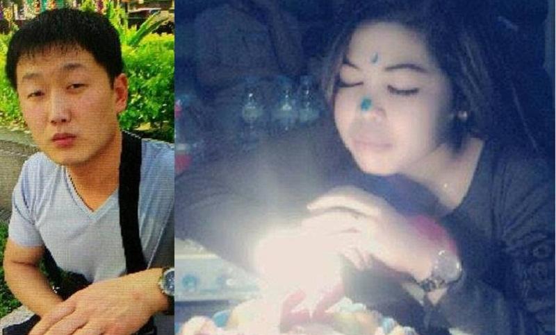 Ri Ji-u atau James (kiri) dan Siti Aisyah (kanan). (Foto: Facebook/Reuters)