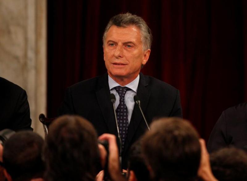 Presiden Argentina Mauricio Macri (Foto: Martin Acosta/Reuters)