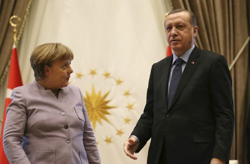 Erdogan samakan Merkel dengan Nazi. (Foto: DPA)