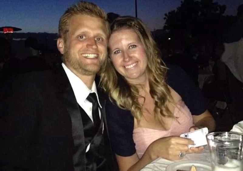 Colin White dan istrinya. (Foto: Facebook)
