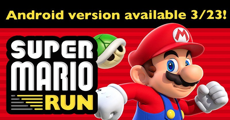 23 Maret, 'Super Mario Run' Mendarat di Android