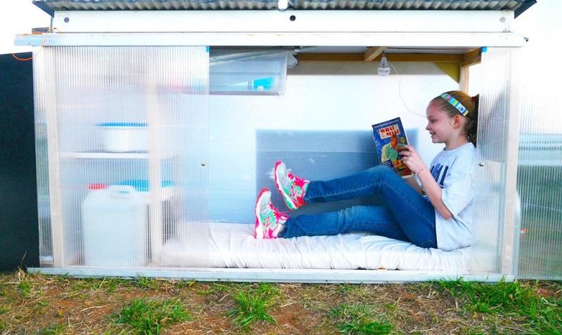 Keren! Bocah Kelas 5 SD Bikin Rumah Mini Bertenaga Surya