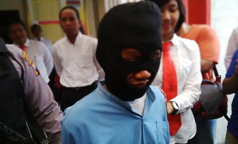 Pemulung Ini Mengaku Sudah Mencabuli 16 Anak di Karanganyar (Foto: Bramantyo/Okezone)