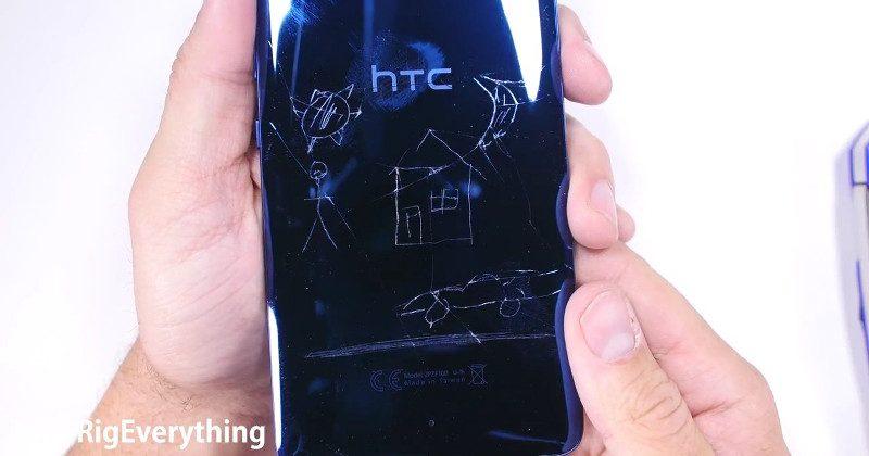 Ringkih, HTC U Ultra Mudah Tergores dan Melengkung?