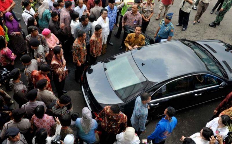 Mobil dinas presiden Jokowi (Okezone)